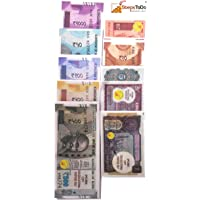 StepsToDo Dummy Currency Class Room Kit (Total 240 Notes) | with Activity Manual | Latest Design | Real Looking | Thin Paper | Relative Varying Size | Learn Money Skills | Play Games