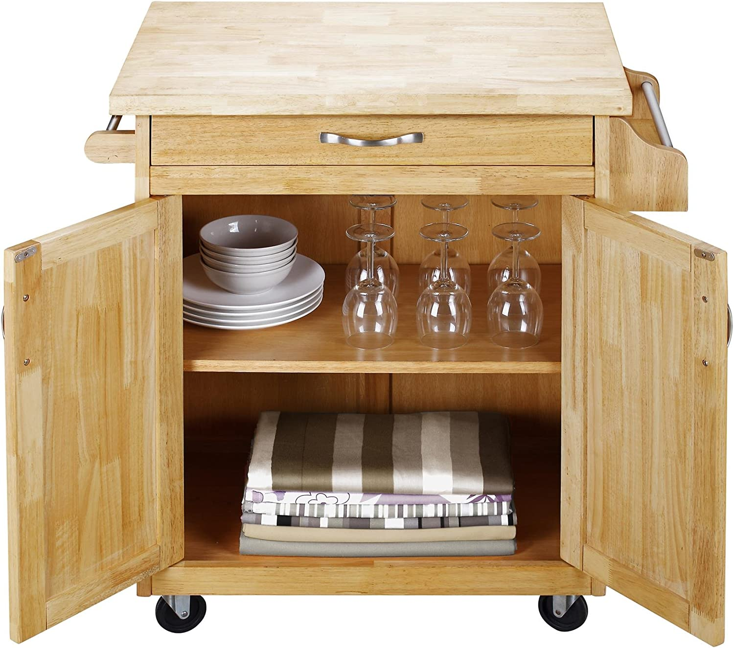 Dorel Living Kitchen Utility Cart/Island