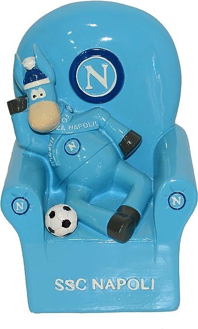 Hucha de cerámica con forma de sillón, mascota y balón del equipo ...