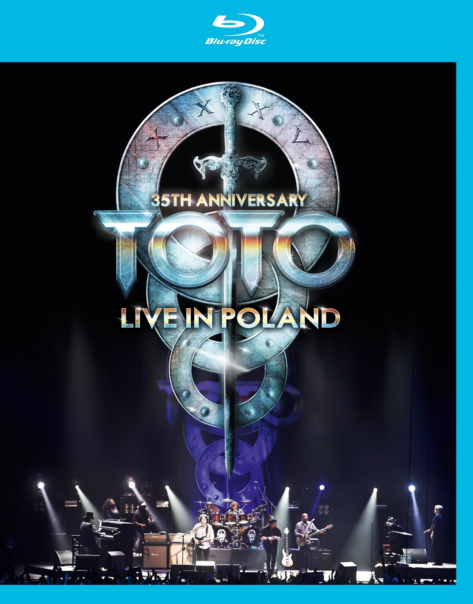 Blu-ray : Toto - 35th Anniversary Tour Live in Poland (Blu-ray)