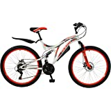 BOSS Women's Ice Bike, Red/White, Size 26