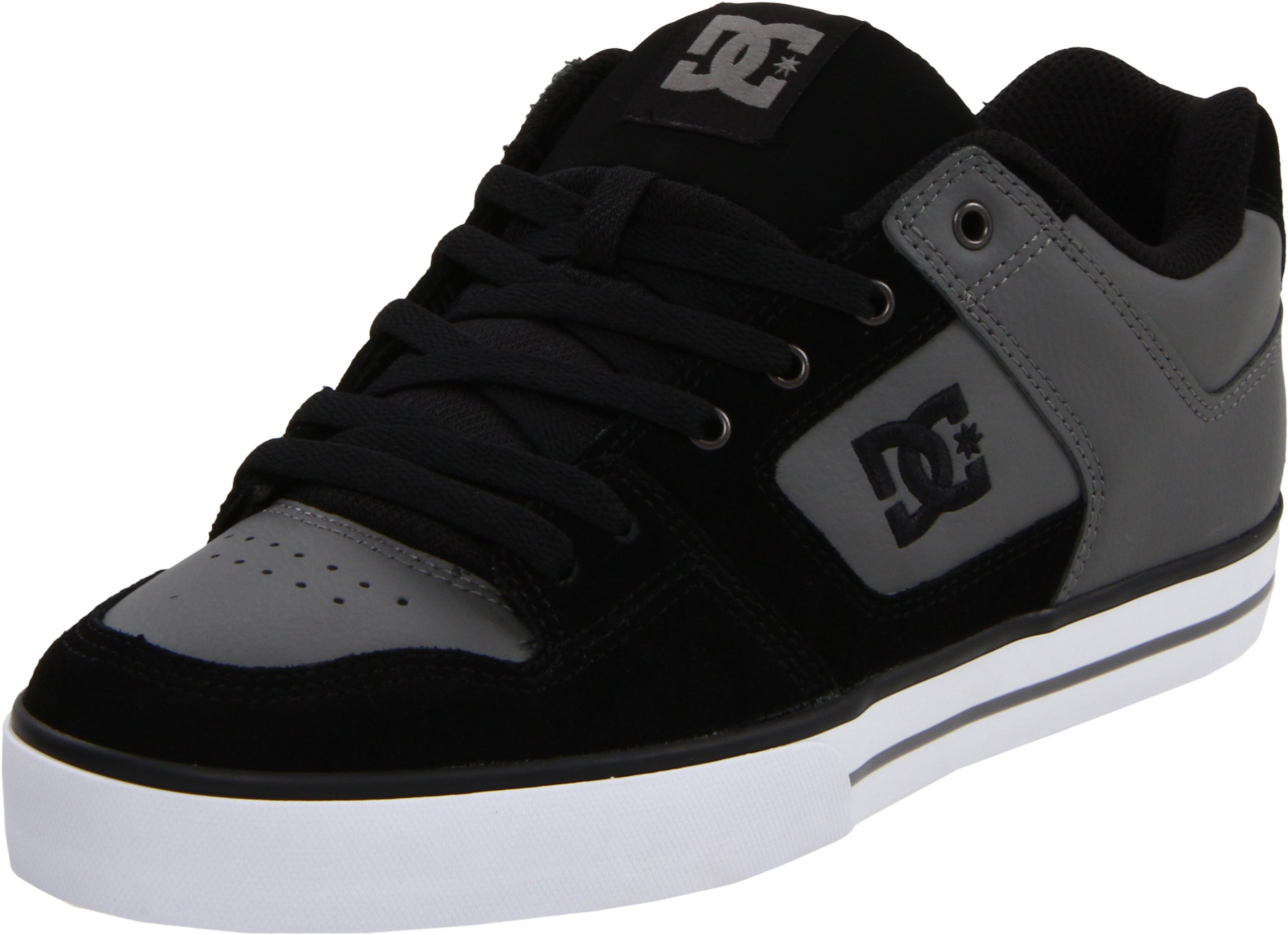 Galleon Dc Men S Pure Action Sports Shoe Charcoal Black