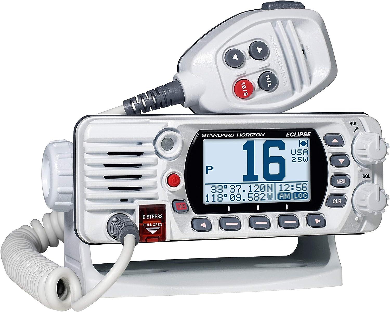 Standard Horizon GX1400 Eclipse Fixed Mount VHF Radio - White: GPS & Navigation