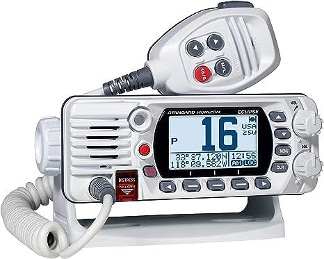 Standard Horizon GX1300 Compact Fixed Mount VHF Marine Radio Black