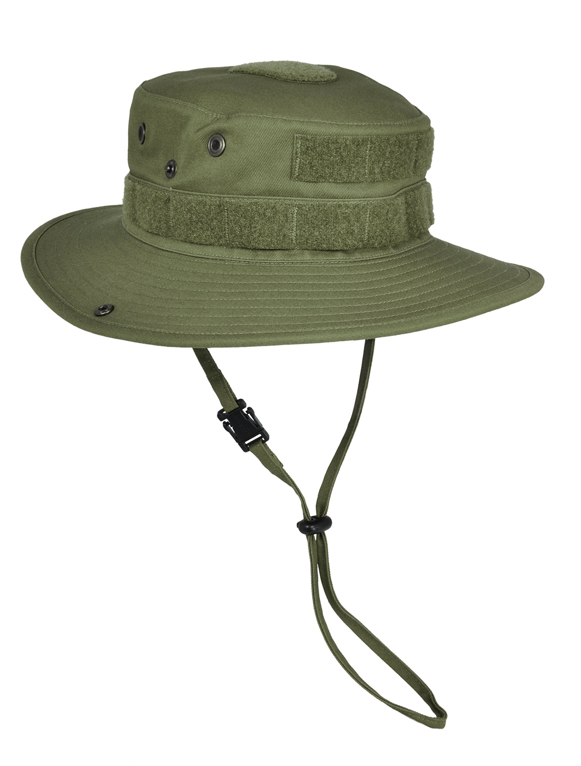 HAZARD 4 SunTac Cotton Boonie Hat with Molle, OD Green, Large