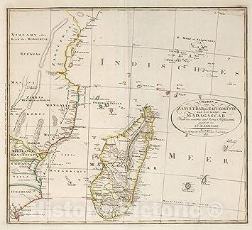 Amazon Com Historic Map World Atlas Map Liii Madagascar