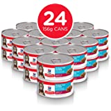 Hill's Science Diet Adult Ocean Fish Entrée Canned Wet Cat Food, 156g, 24 Pack