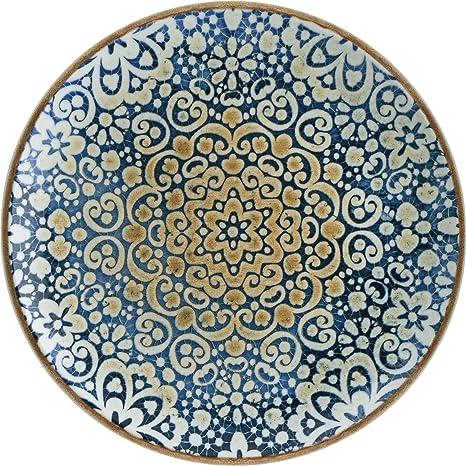 Alhambra - Plato llano (27 cm): Amazon.es: Industria, empresas y ...