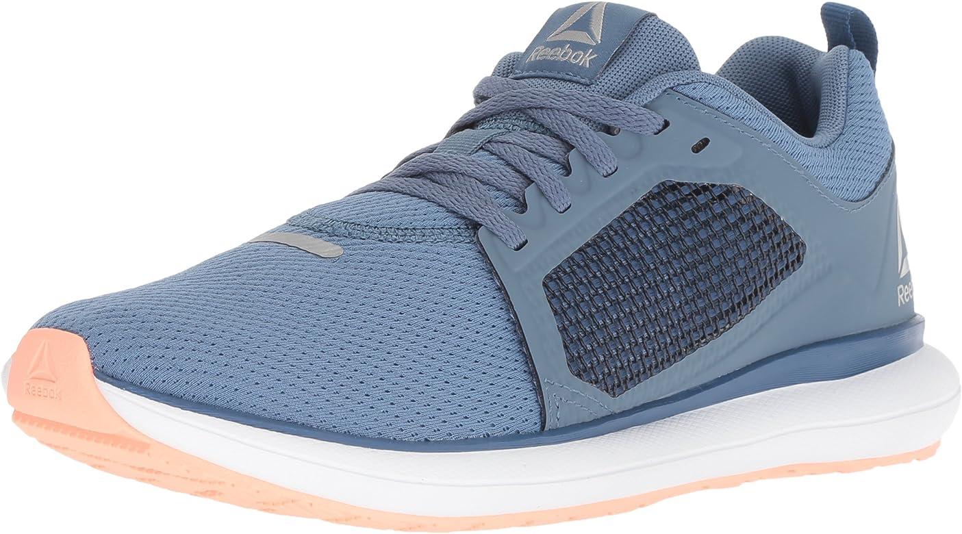 Reebok Womens Driftium Ride Running Shoe, Blue Slate/Bnkr Blue ...
