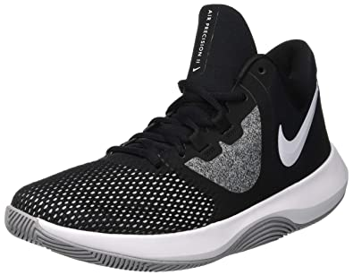 new concept e878e 2d920 Nike Men s Air Precision Ii Basketball Shoes, (Black White 001), ...