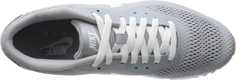 Nike Air Max 90 Ultra Essential, Baskets Homme Gris Gris Loup Blanc Gris Loup