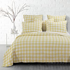 Levtex Home Elijah Yellos Full/Queen Quilt Set
