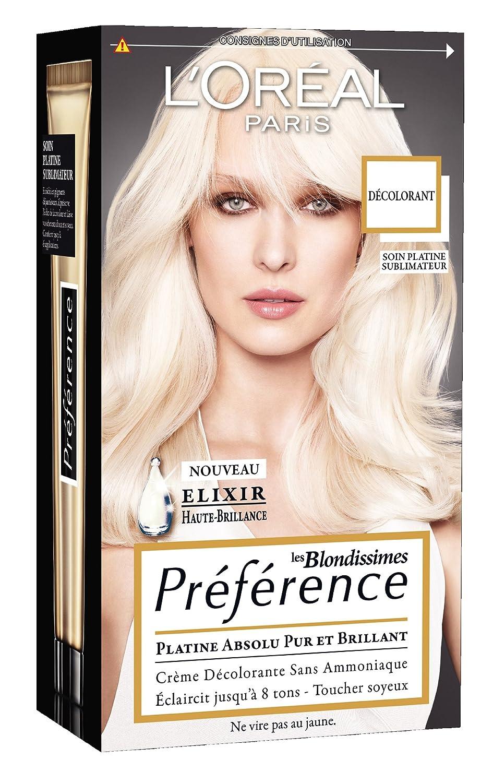 Coloration blonde efficace