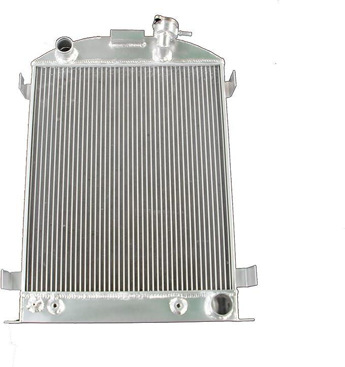 MONROE RACING U0132 64mm 3 core aluminum radiator for 1932 FORD HIBOY HI-BOY CHEVY engine