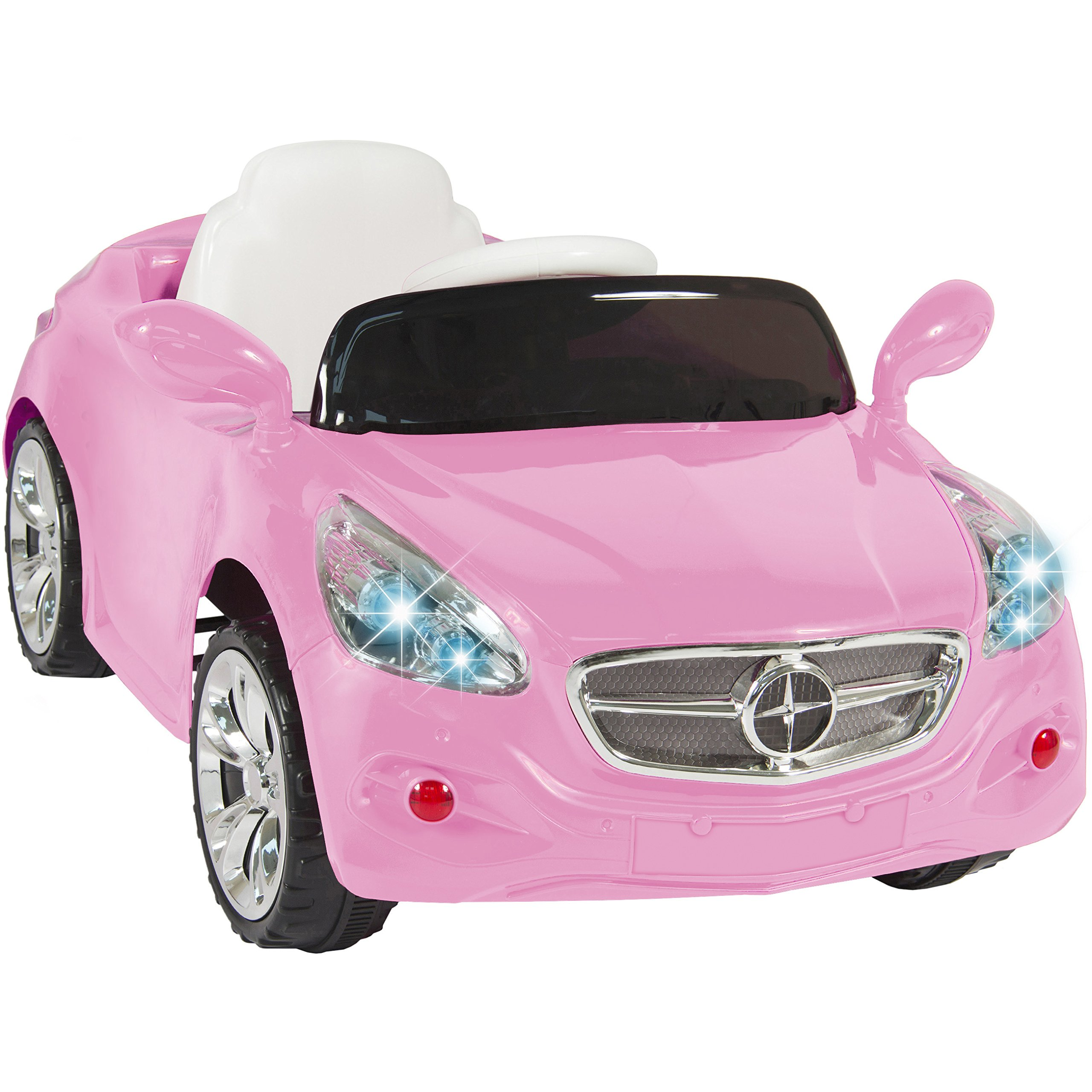 Best Choice Products Kids 12V Electric Power Wheels RC Car Ride On with Radio & MP3, Pink by Best Choice Products