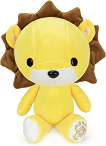 Bellzi Yellow Lion Cute Stuffed Animal Plush Toy - Adorable Soft Lion Toy Plushies and Gifts - Perfect Present for Kids, Babies, Toddlers - Lioni