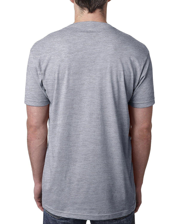Next Level Mens CVC V Neck T Shirt 6 Pack