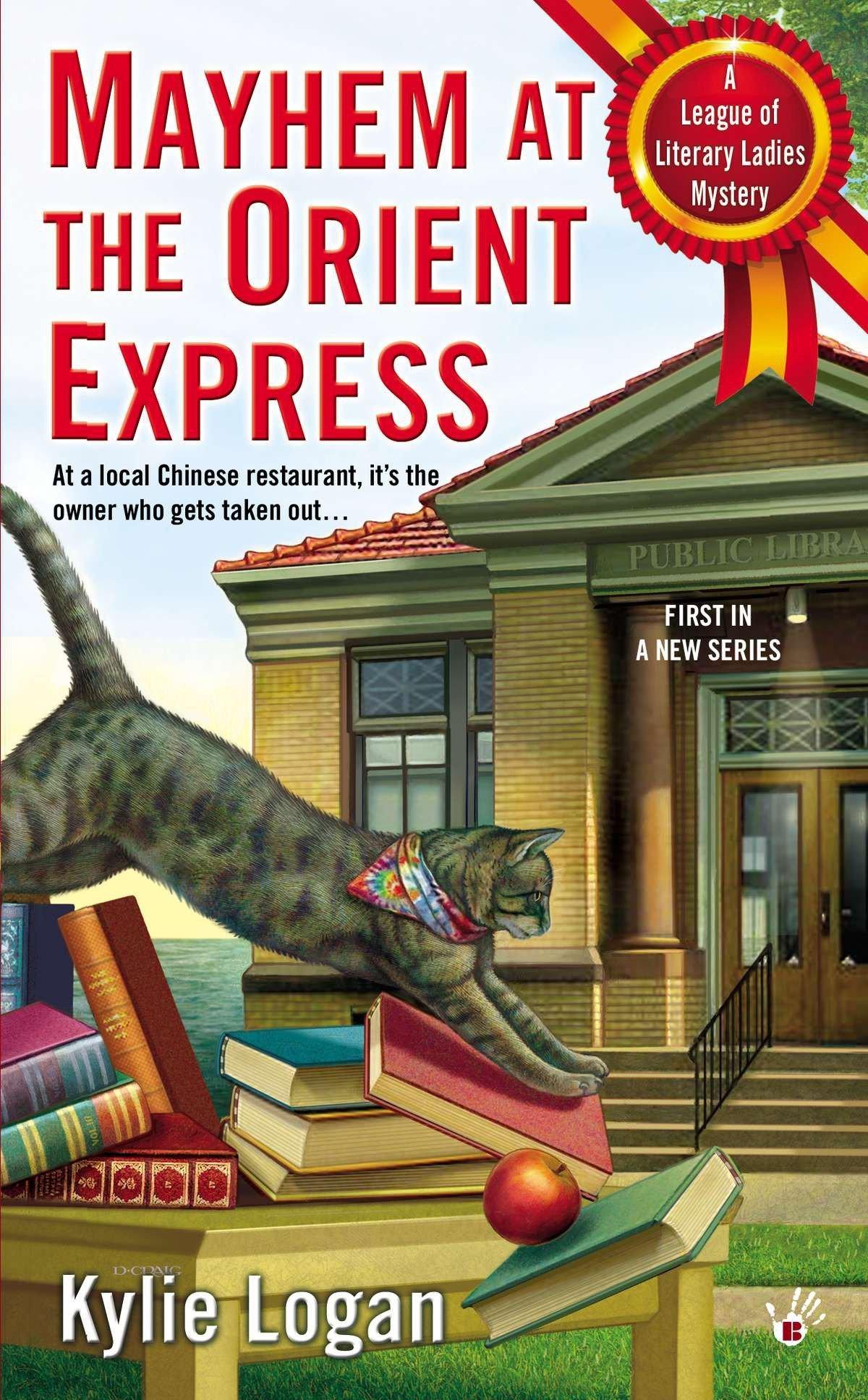 Amazon.com: Mayhem at the Orient Express (League of Literary Ladies)  (9780425257753): Kylie Logan: Books