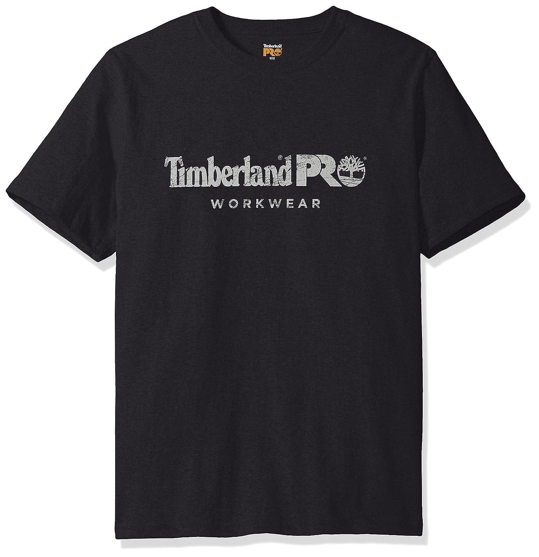 6ded4b8887e Amazon.com: Timberland PRO Men's Cotton Core Short-Sleeve T-Shirt: Clothing