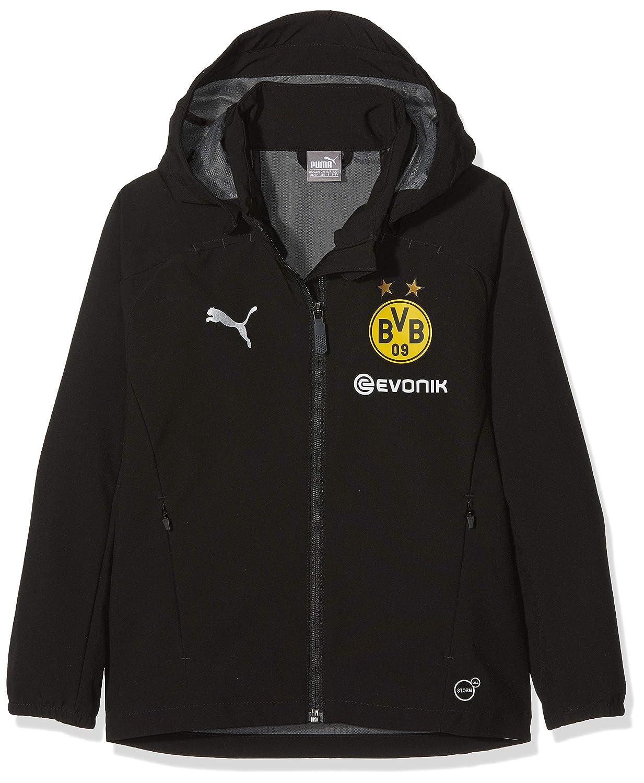 Puma Kinder BVB Rain Jacket Jr with Sponsor Logo Jacke