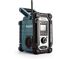 Makita DMR107 Radio de O, 7 W, 0 V, Azul, Única