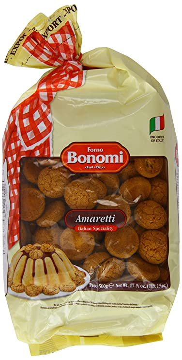 Amazon.com: Forno Bonomi Amaretti Biscuits 500 g (Pack of 3): Computers & Accessories