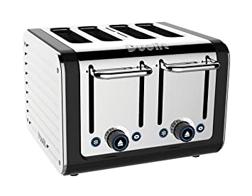 Amazon Dualit 4 Slice Design Series Toaster Black and