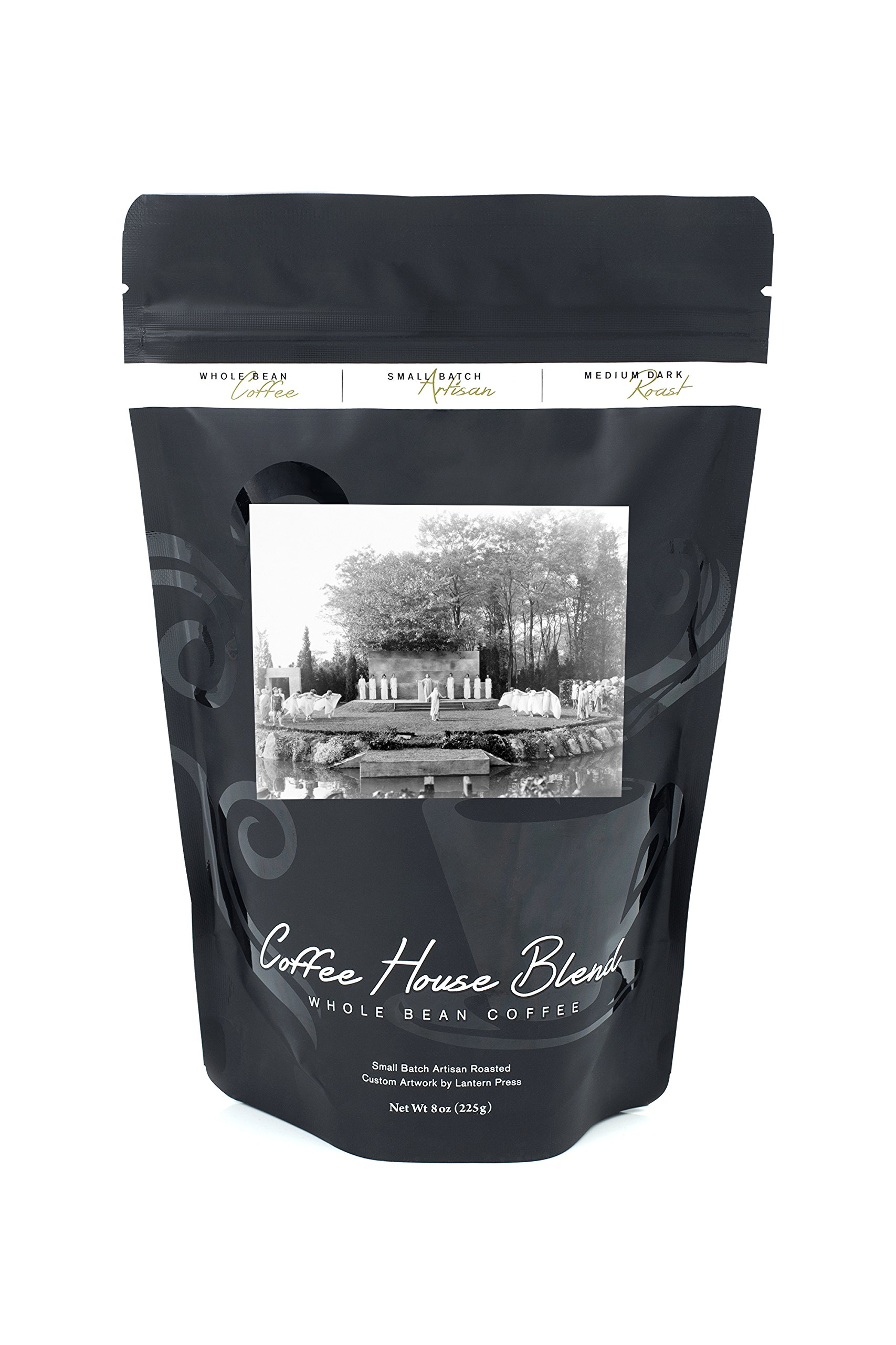 Outdoor Dance Ceremony on Long Island Photograph (8oz Whole Bean Small Batch Artisan Coffee - Bold & Strong Medium Dark Roast w/ Artwork)
