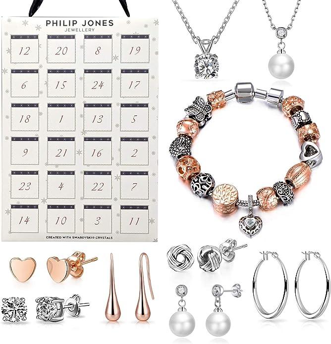 Philip Jones Jewellery Advent Calendar Created with Austrian