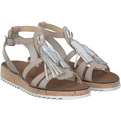 6094 Damen Sandale Größe 385 Sabbia Shell Paul Green Billig Verkauf ... 6555764967