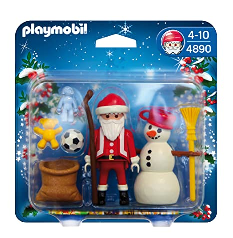 Playmobil 4889 - Babbo Natale con Angioletto: Amazon.it: Giochi e