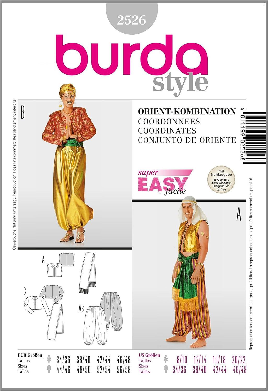 Burda B2622 Patron de Couture Gilet et Accessoires 19 x 13 cm