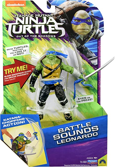 Amazon.com: Teenage Mutant Ninja Turtles Movie 2 OUT OF THE ...