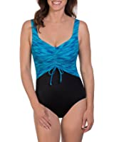Reebok Women's Synergystic Active Constructed One Piece Swimsuit