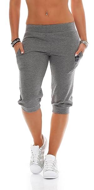 Deportivos Pantalones Hoppe es 34 Señoras Amazon Gennadi Capri nX1U4fPUq