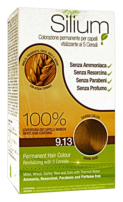 Silium Crema Colorazione Capelli Sabbia Calda - 250 Gr  Amazon.it  Bellezza 3e75f7bf1b71