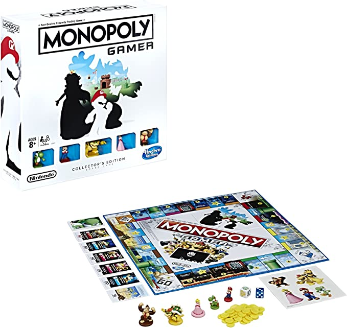 Hasbro C2127 Monopoly Gamer Edición Coleccionistas: Amazon.es: Juguetes y juegos