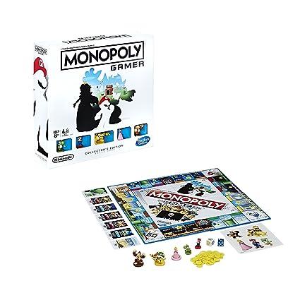 Hasbro Monopoly Gamer Collector S Edition Amazon Com Mx Juegos Y