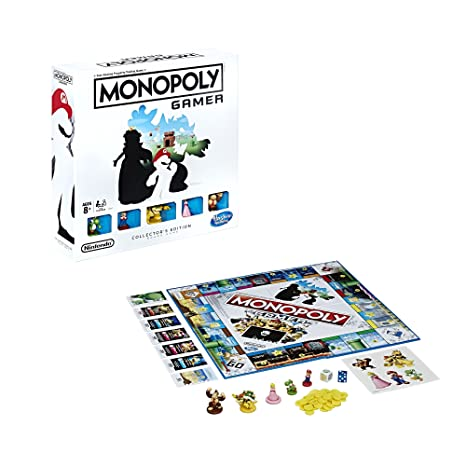 Amazon Com Monopoly Gamer Collector S Edition Toys Games