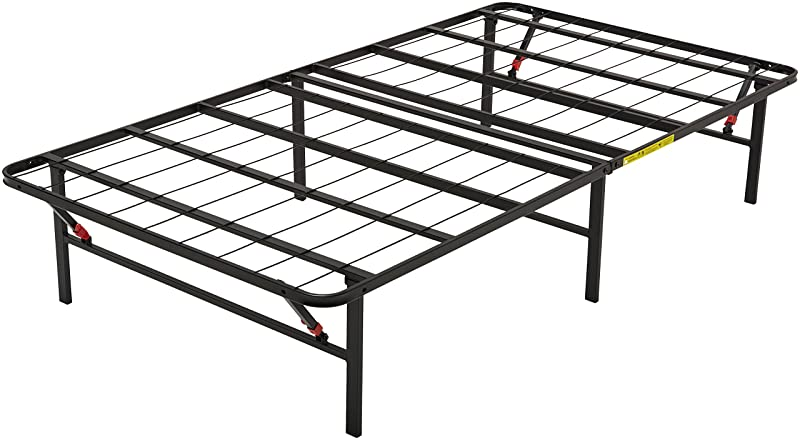 AmazonBasics Foldable Metal Platform Bed Frame – Twin
