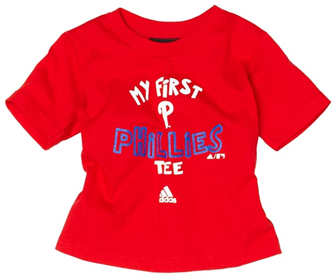 11259513c Amazon.com  MLB Philadelphia Phillies The Other First Short Sleeve Tee  Infant Toddler  Clothing