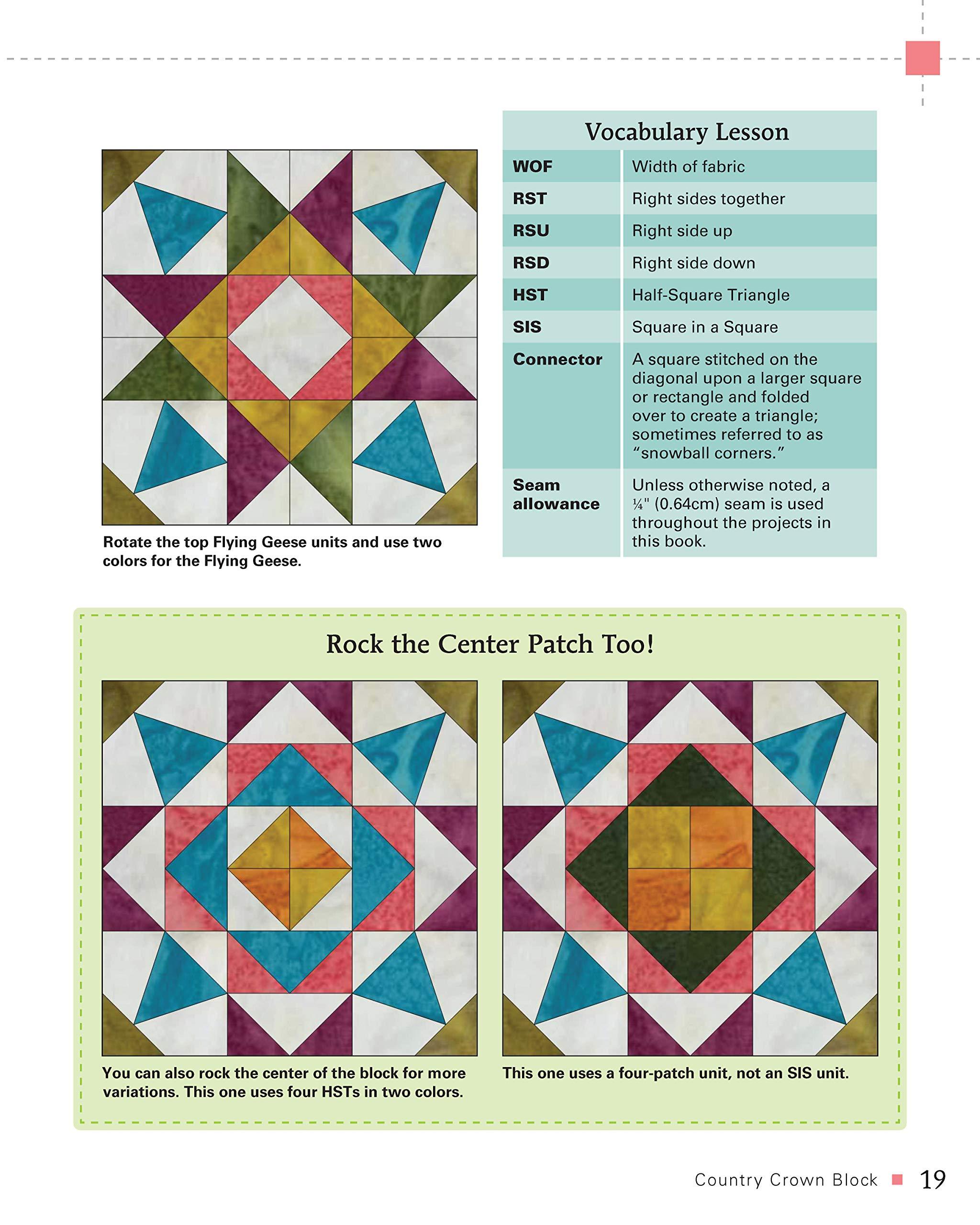 Rock That Quilt Block book
