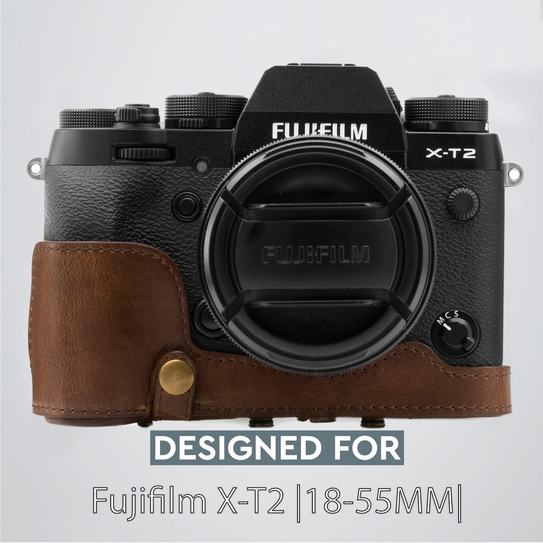 Para Fujifilm X-T1 X-T2 Xl Cámara SLR D-cuerpo con Batería Grip Funda