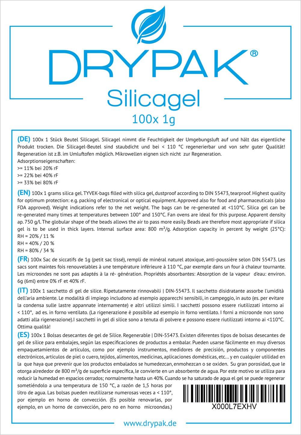 silica gel trocknen mikrowelle