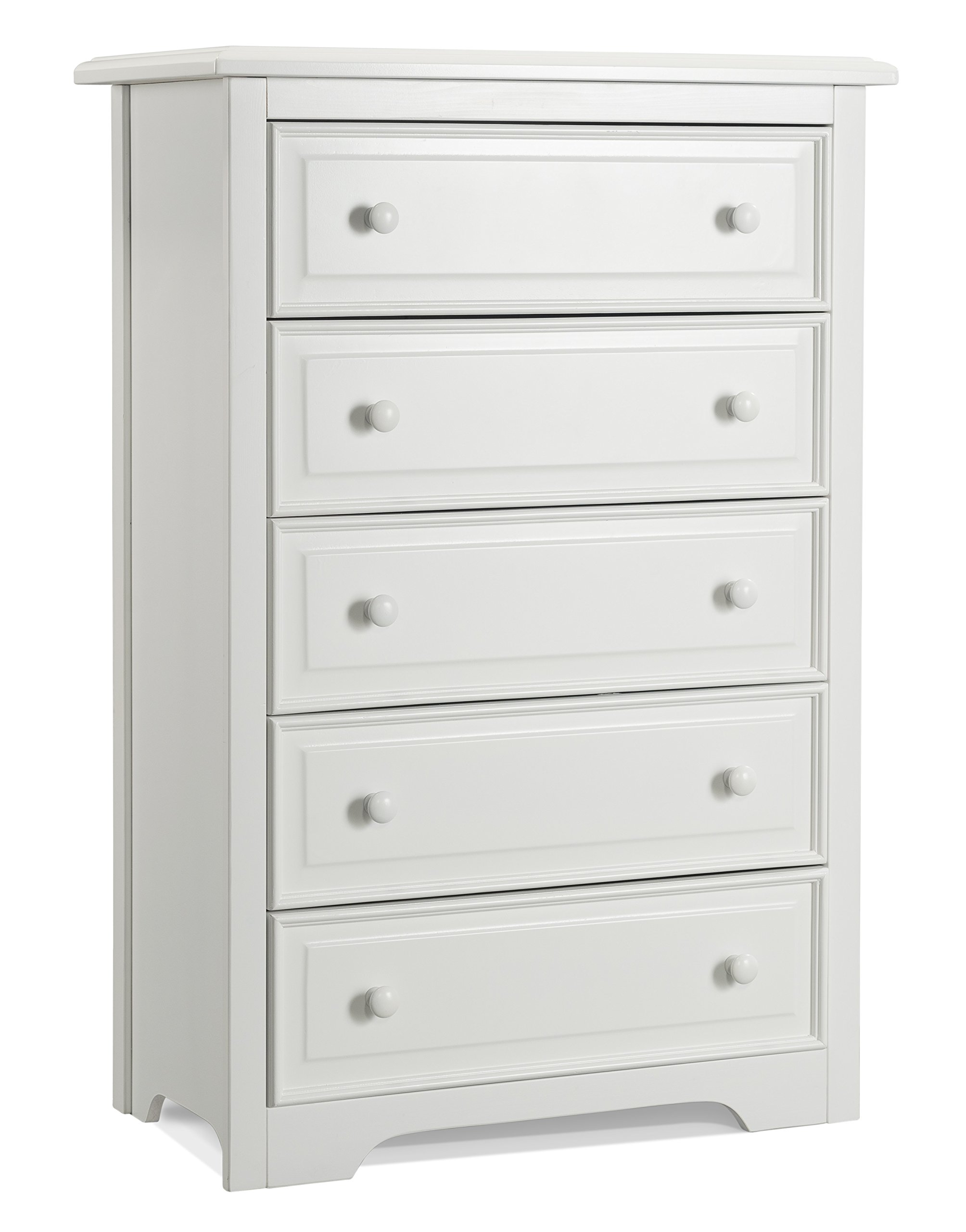 Graco Brooklyn 5 Drawer Chest, White by Storkcraft