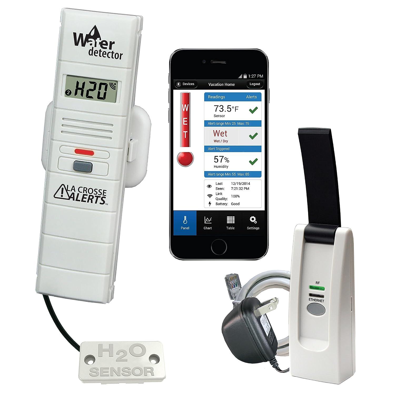 La Crosse Alerts Mobile 926 25104 WGB Wireless Monitor System Set with Water Leak Probe