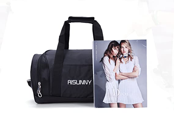 115ba156fa91 RISUNNY Barrel Fitness Gym Bag Small Travel Sports Bags for Men and Women  (Small