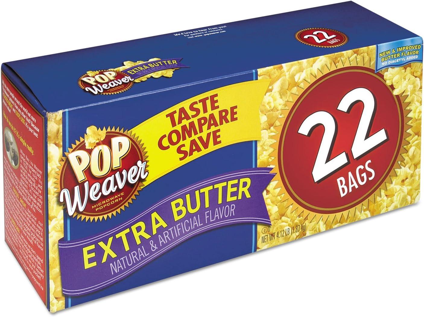 Amazon.com: Pop Weaver 105512 Microondas palomitas de maíz ...