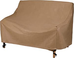 Duck Covers Essential Water-Resistant 62 Inch Patio Loveseat Cover
