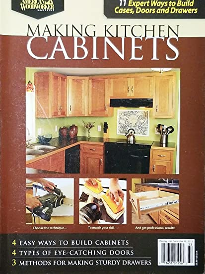 Amazon com : MAKING KITCHEN CABINETS 11 EXPERT WAYS TO BUILD CASES